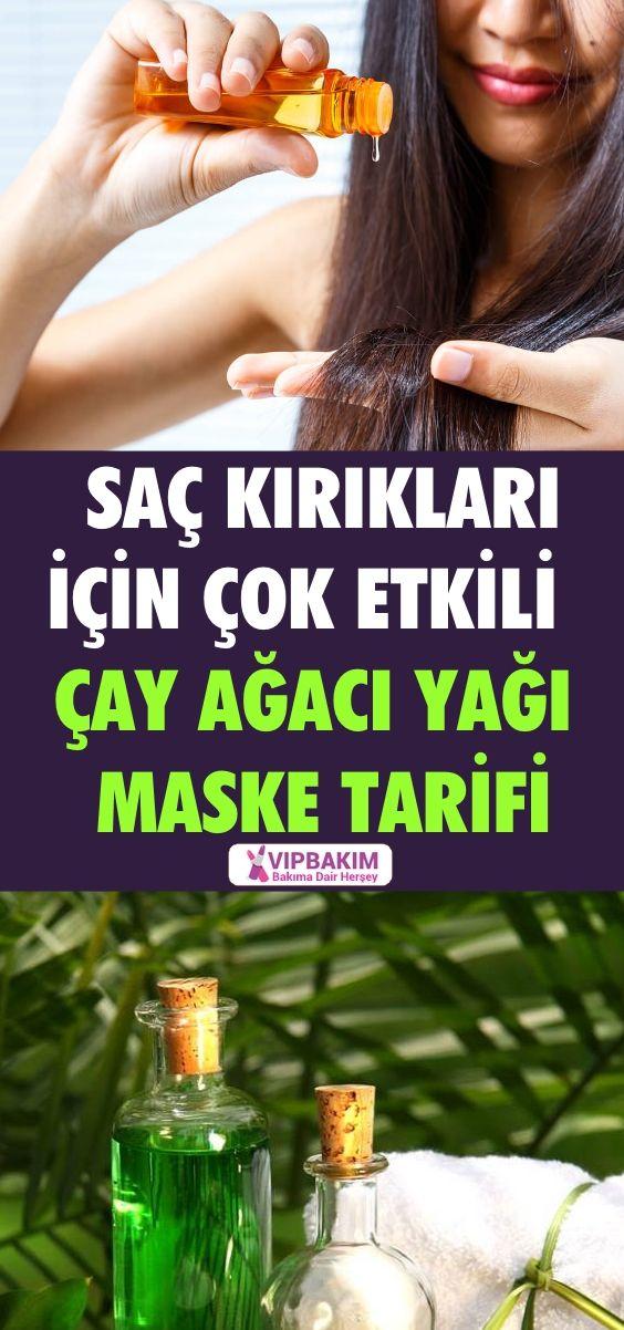 Sac Kiriklari Icin Cay Agaci Yagi Maskesi Www Vipbakim Com Sac