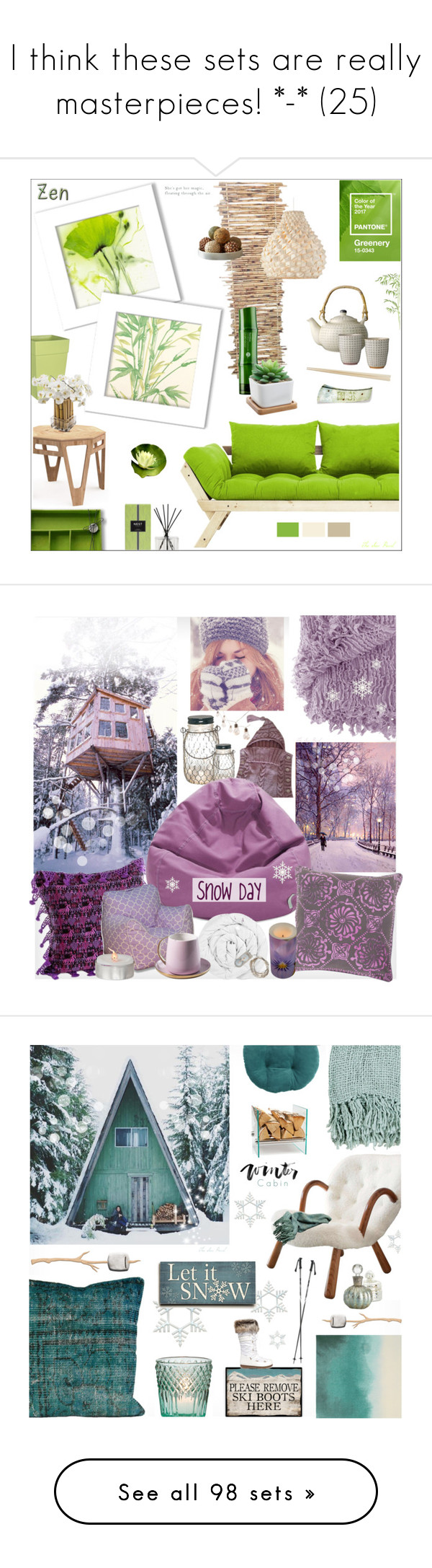 """""""I think these sets are really masterpieces! *-* (25)"""" by tempestaartica ❤ liked on Polyvore featuring interior, interiors, interior design, home, home decor, interior decorating, Cole & Son, Tony Moly, Nest Fragrances and Sia"""
