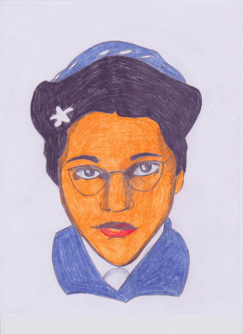 rosa parks images to draw | Color-Step-8-41.jpg | Projects to Try ...