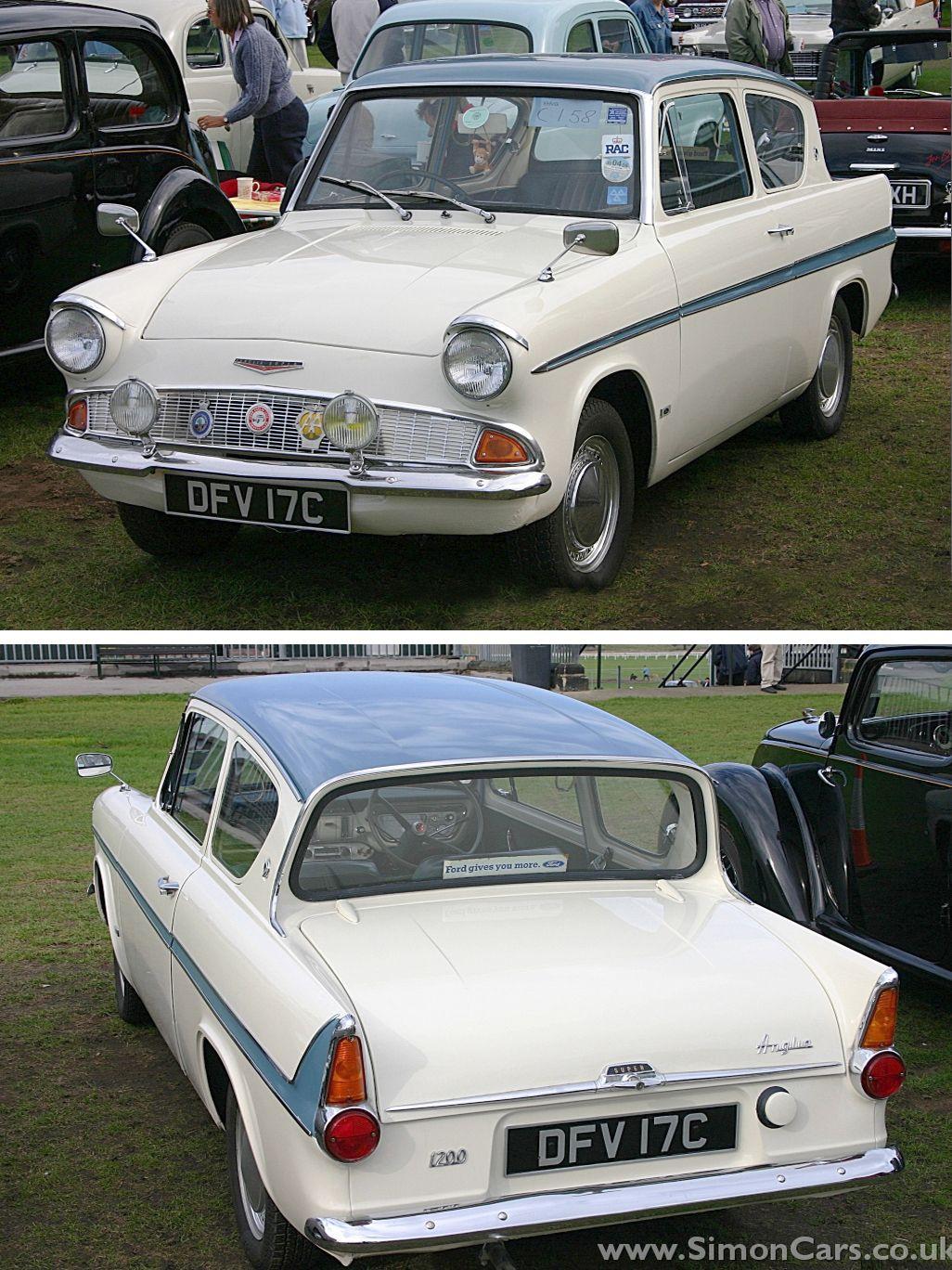 1965 Ford Anglia 123e Super Ford Anglia Classic Cars British Cars