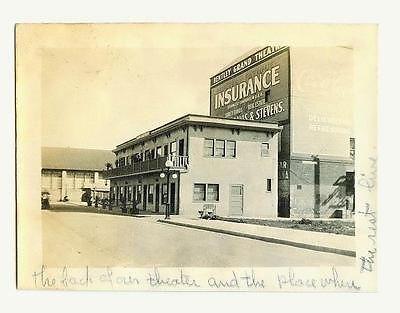 1915 Long Beach CA BENTLEY GRAND THEATER \ Apt Bldg ORIG Movie - copy birth certificate long beach