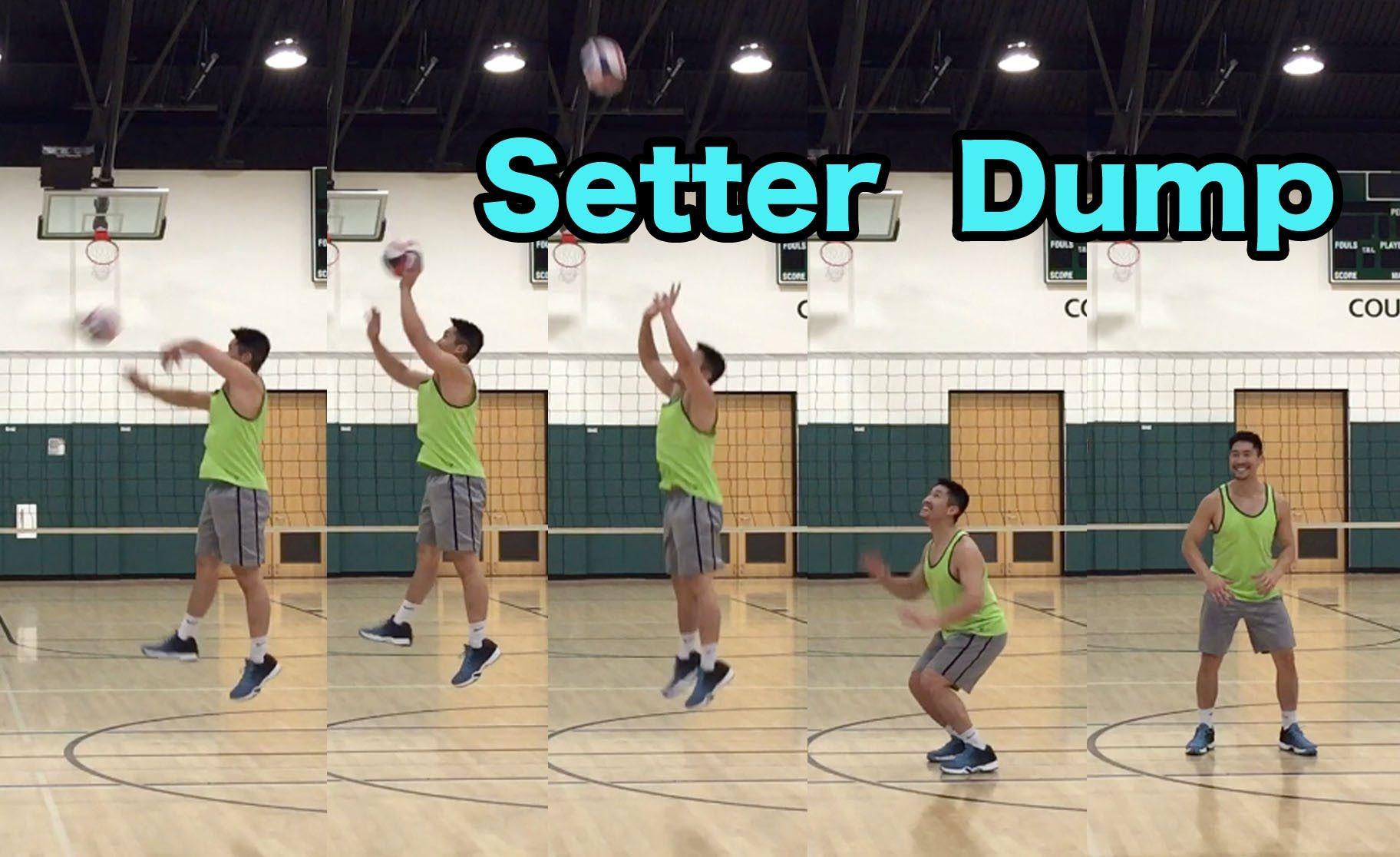 Setter Dump Volleyball Tutorial Volleyball Workouts Coaching Volleyball Volleyball Tips