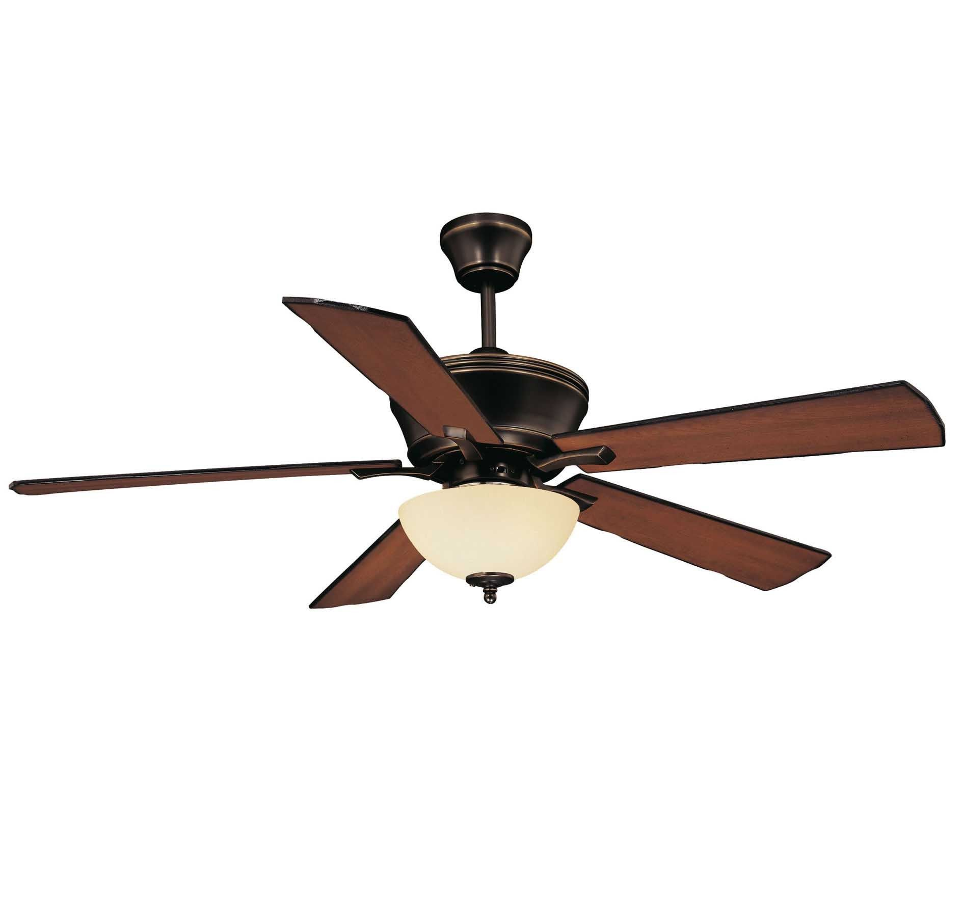 "Savoy House St Simons 52"" 3 Light Ceiling Fan in Old Bronze"