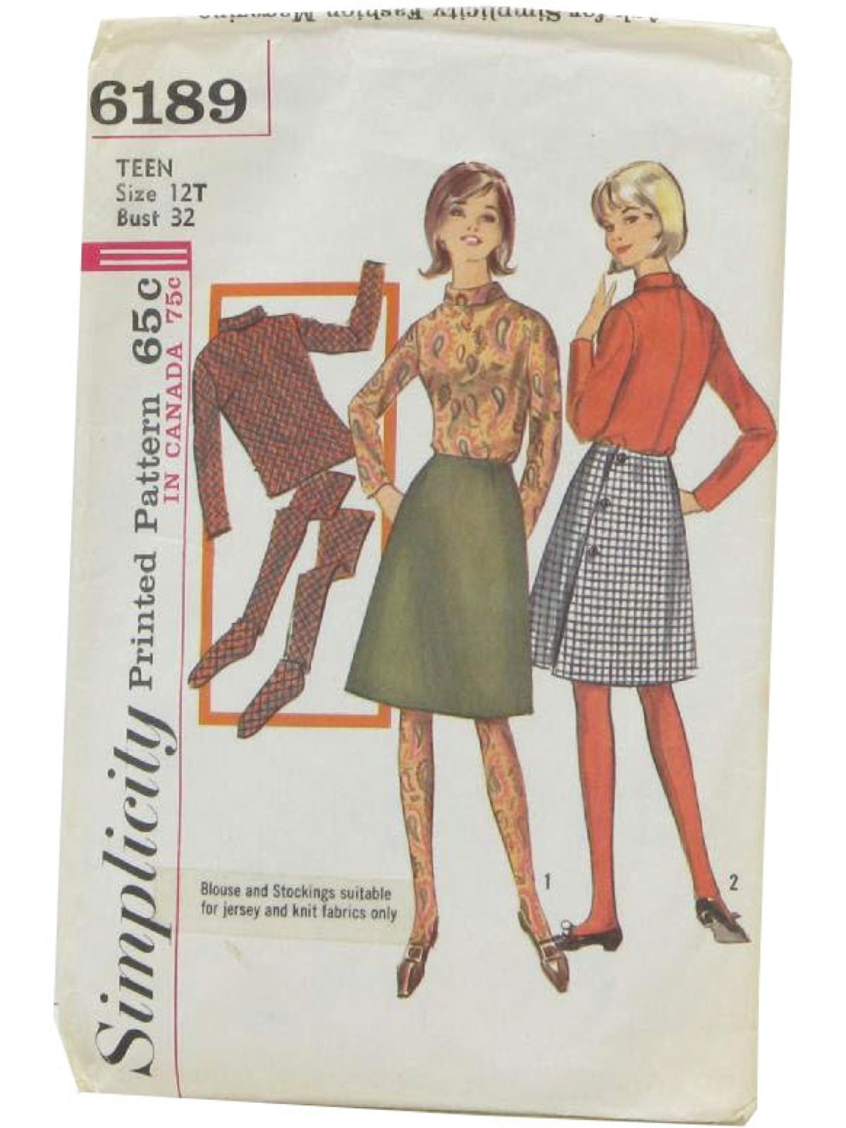 Vintage simplicity 6189 sixties sewing pattern 1965 simplicity vintage simplicity 6189 sixties sewing pattern 1965 simplicity 6189 womens sewing pattern for jeuxipadfo Choice Image