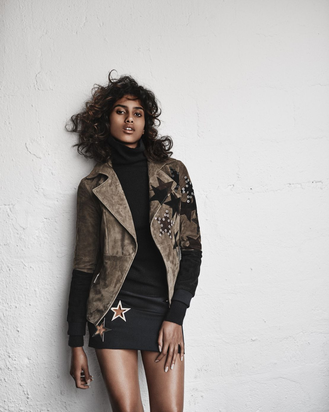 Imaan Hammam by Marc de Groot for Vogue Netherlands September 2015