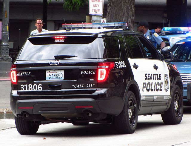 Police Suv Seattle 31806 Ford Interceptor Flickr Photo