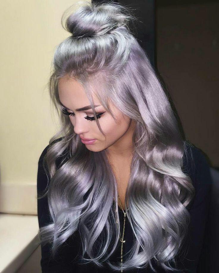 Pin by Brenda Krout on Hairstyles Lavender hair, Hair