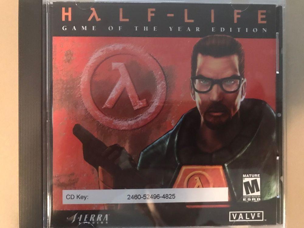 Half-Life PC Game 1998 CD Valve Software Sierra | eBay