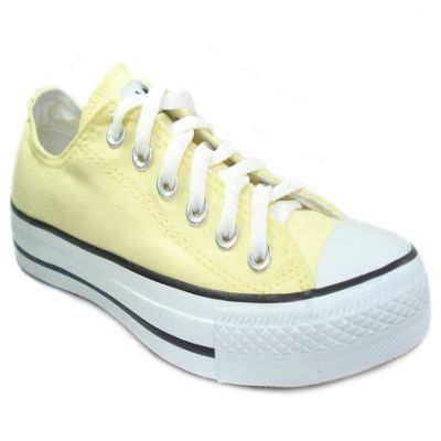 7b35005bfd3 CONVERSE - Tenis Converse All Star Seasonal OX Amarelo