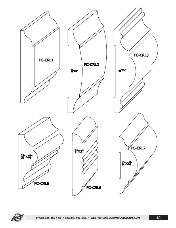 modern chair rail profiles. Chair Rail Molding - Αναζήτηση Google Modern Profiles