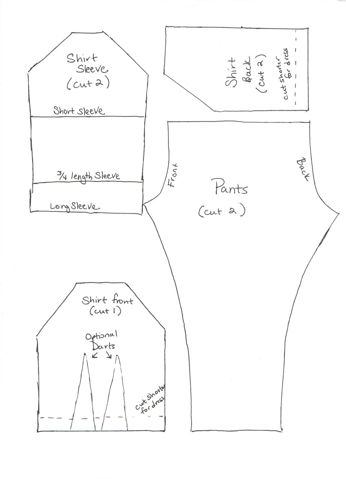 Proverbs 31 Living: A Handmade Christmas - Week 3 {Barbie Clothes} | Doll  clothes patterns free, Barbie clothes patterns, Clothing patterns free