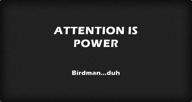 ATTENTION IS POWER