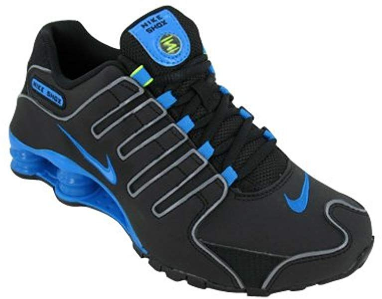really comfortable 100% authentic cost charm Amazon.com | Nike Shox NZ Womens Running Shoes 314561-021 Black 10 ...