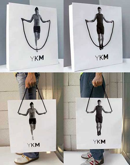 YKM Bag shopping bag | packaging | Pinterest | Shopping bags, Bag ...