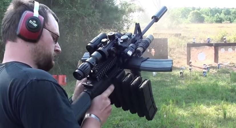 The Ultimate AR-15 Mall Ninja Tactical Zombie Destroyer | http://2Atag.com  #2A http://ow.ly/SrL5s