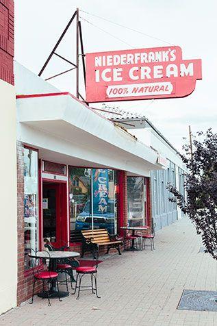 Niederfranks ice cream san diego