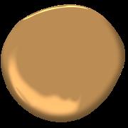 Look at this Benjamin Moore paint color Golden Retriever 2165-30. Via @benjamin_moore