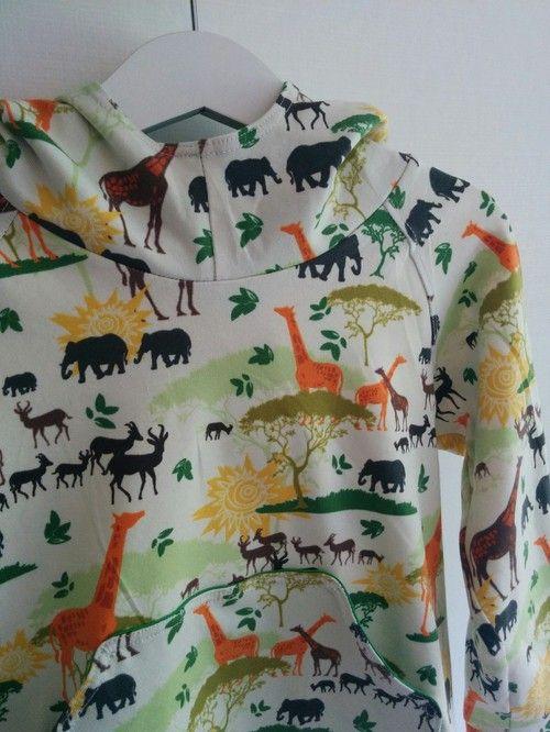 Sara kan själv - Sy tröja till barn. Gratis mönster.  dec5dd0973525