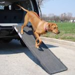 Petstep Pet Ramp Graphite Gray Costco Online 99 99 Including S Make Sure Height Of Vehicle Doen T Result In Slope Of Ram Dog Ramp Pet Ramp Dog Ramp For Car