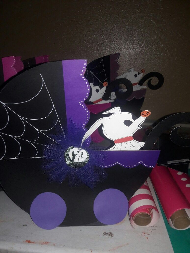 Nightmare Before Christmas theme baby shower | made by me ...