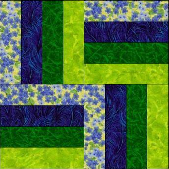 Rail Fence 2 Quot X 26 Quot Strip Of Each Of Four Colors Per Block