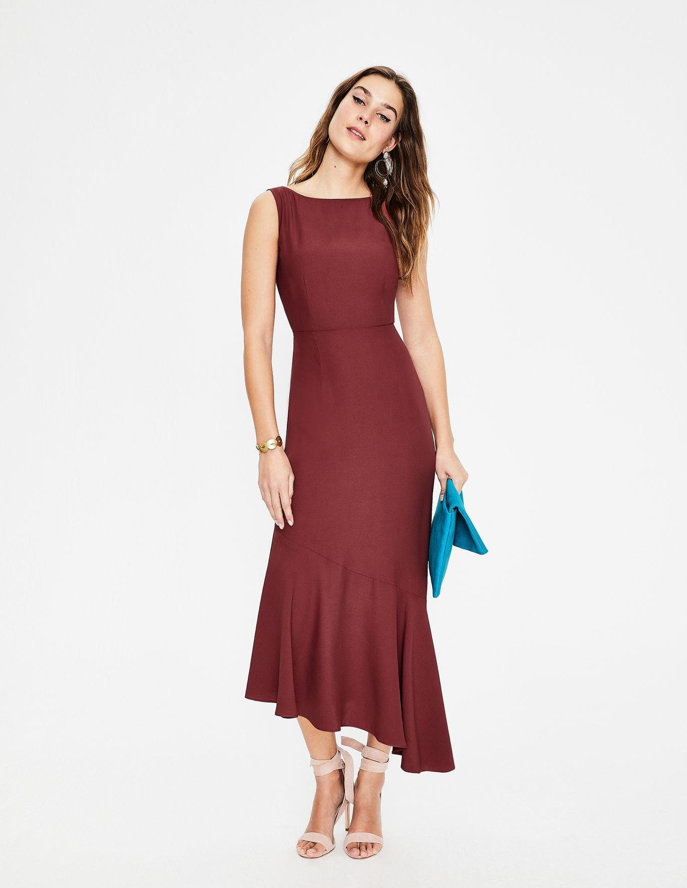 7ab4c2189a72 Tessa Midi Dress - Conker | Romilly in 2019 | Dresses for work ...