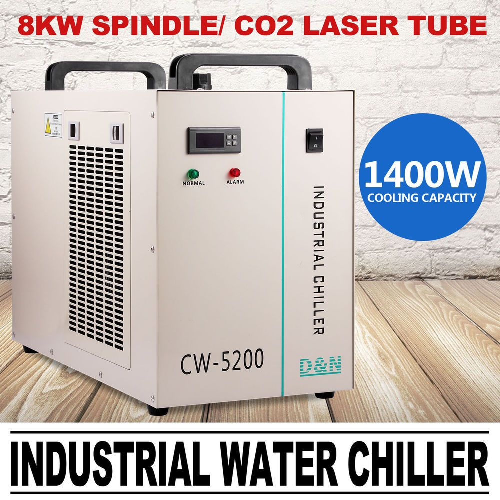 CW-5200 Industrielle Wasser-Kühler Cooler CNC Co2 Laser Schlauch Schweißgeräte