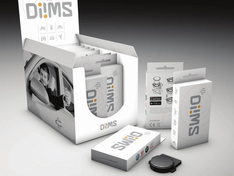 Diims - low energy, 70 USD tracking device for your bike. Uses the danish postal service existing tracking network to produce a unit that are powered on one battery that lasts 1-2 years.