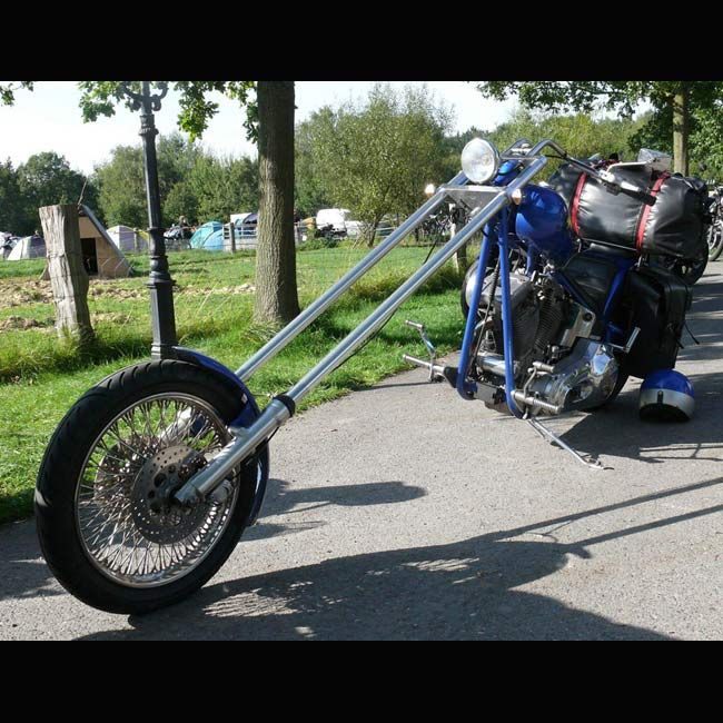 Choppers Really Long Forks