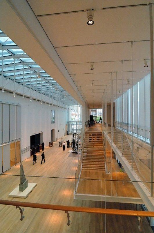 Chicago Art Institute The Modern Wing Renzo Piano Architecture Interieure Architecture