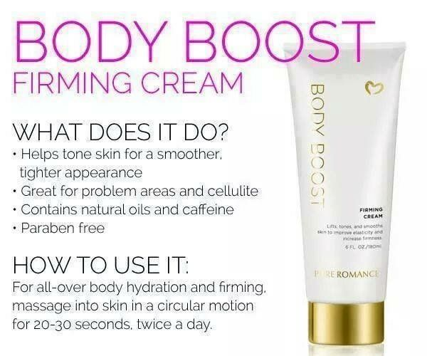 Pure romance Body Boost Firming /& save my Skin! FREE SHIPPING
