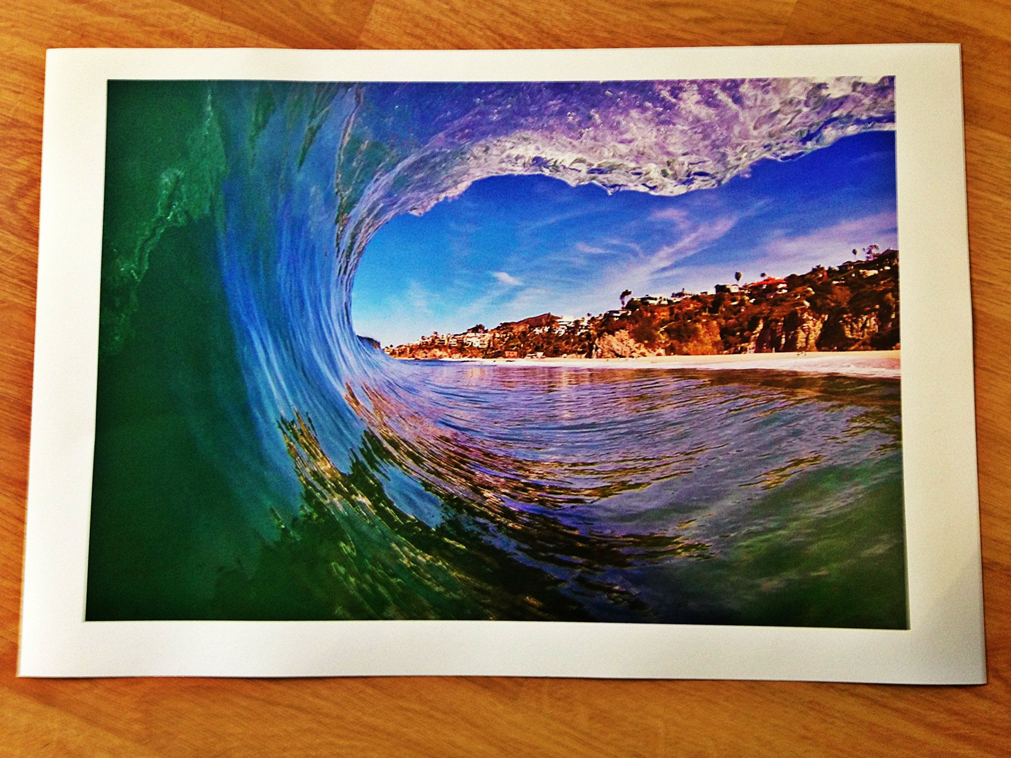 "Our Ocean Art images are printed on premium quality paper using one of the best spray printers on the market.  They look really nice framed or even just hung on a wall solo.  Coastal Playground 50/50® Ocean Art is a great way to spruce up a living room, dorm, or even a Garage aka ""Mancave"". Live what you love and protect where you play!"