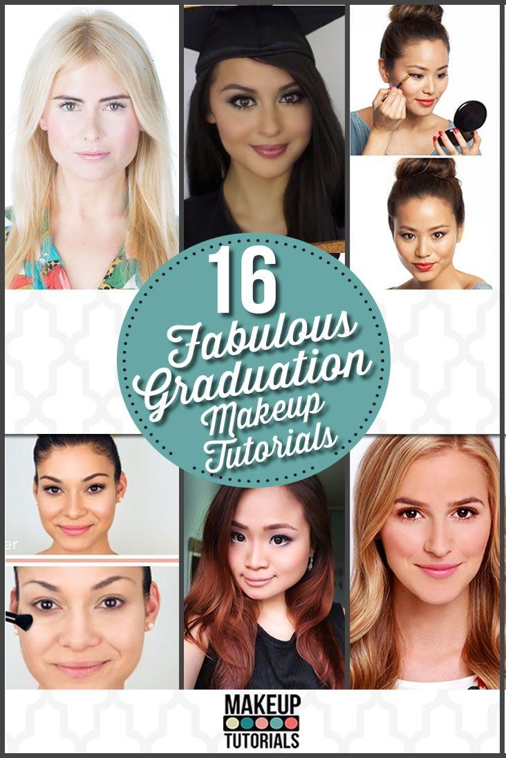 16 Graduation Makeup Tutorials You Can Wear With Confidence Graduation Makeup Graduation Makeup Tutorial Makeup Tutorial