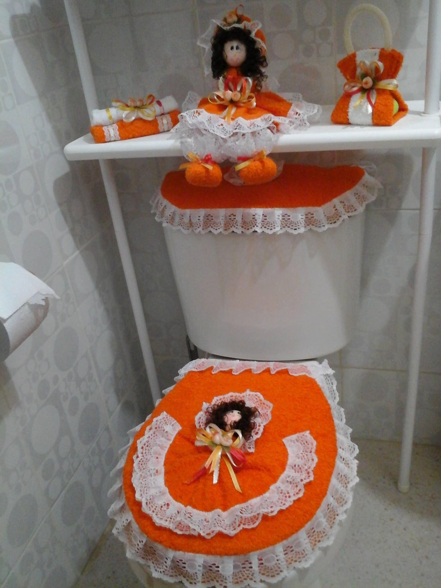 vestido baño | Juegos de baño, Manualidades juegos de baño ...