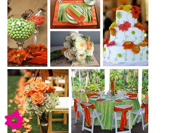 Combinación Con Color Naranja En 2019 Colores Para Boda