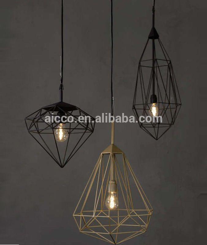Drahtkäfig Moderne Hängende Replik Anhänger Led-beleuchtung Lampe - wohnideen led