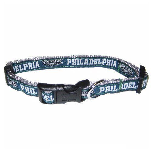 db1978406 NFL Philadelphia Eagles Green Adjustable Woven Team Pet Collar  https   allstarsportsfan.com