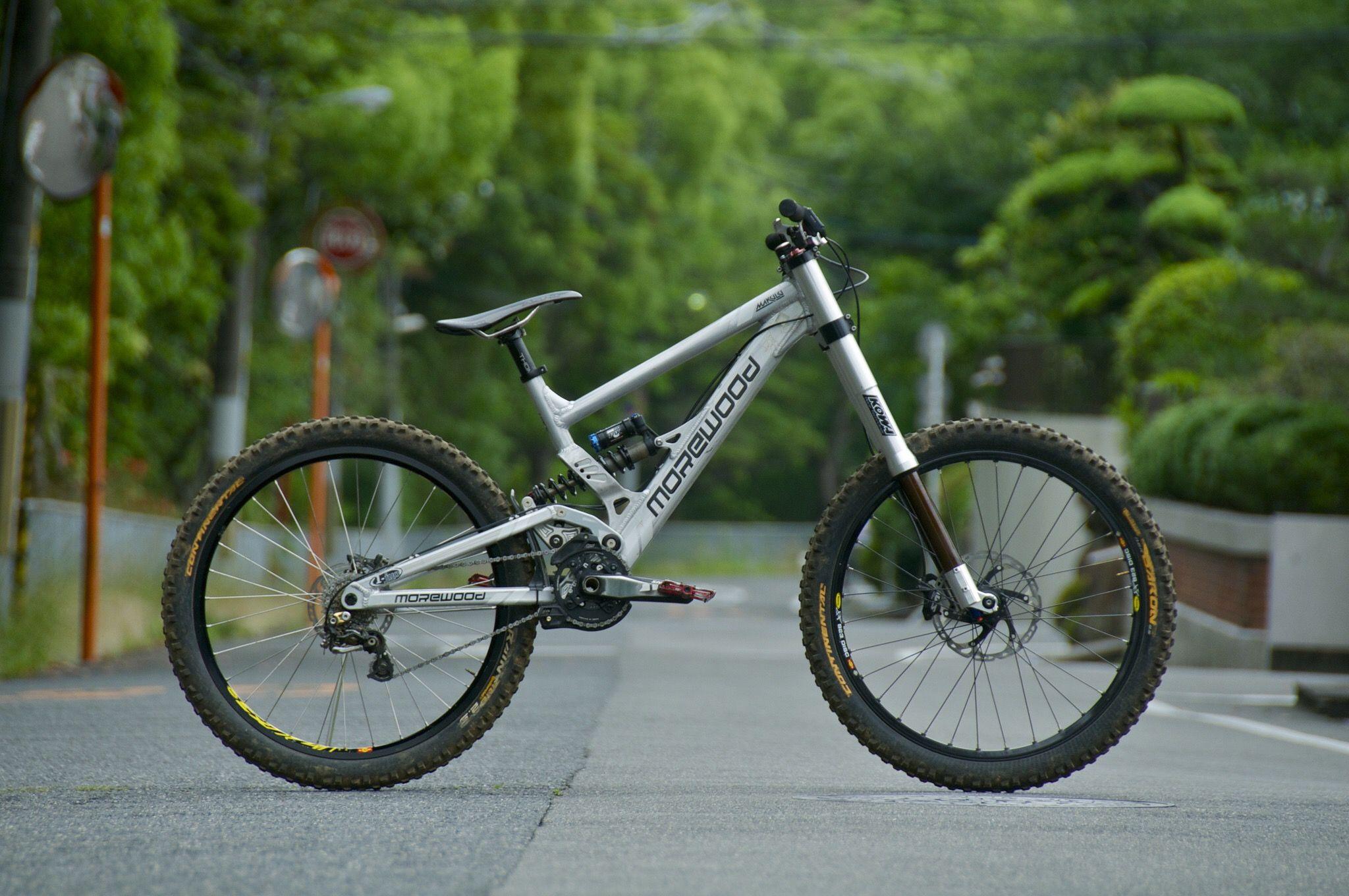 Morewood Makulu 26 and Fork by Kowa | Cycles | Pinterest | MTB ...