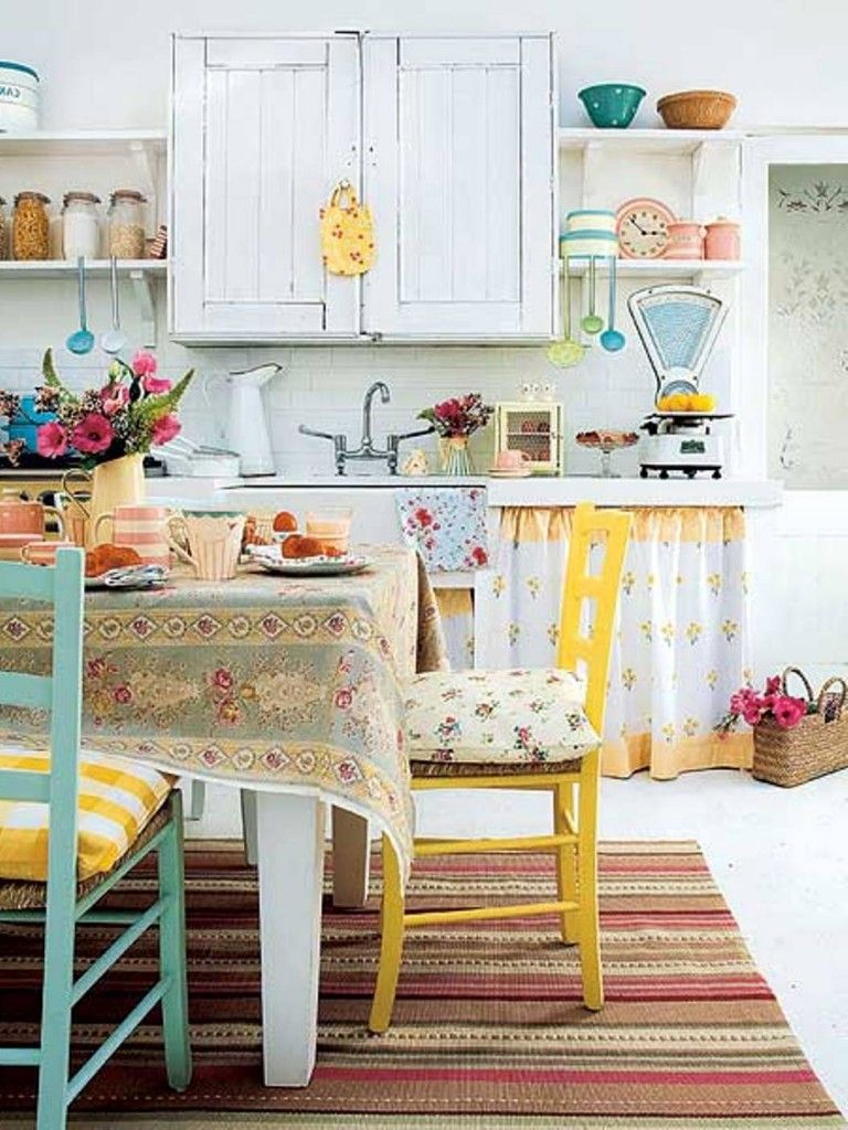 Shabby Chic Kitchen Ideas For Traditional Concept Awesome