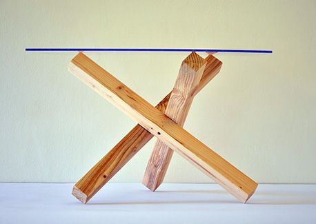Leroy Merlin Gambe Tavolo.Tavolino Tre Design By Giuseppe De Chirico Tre E Un