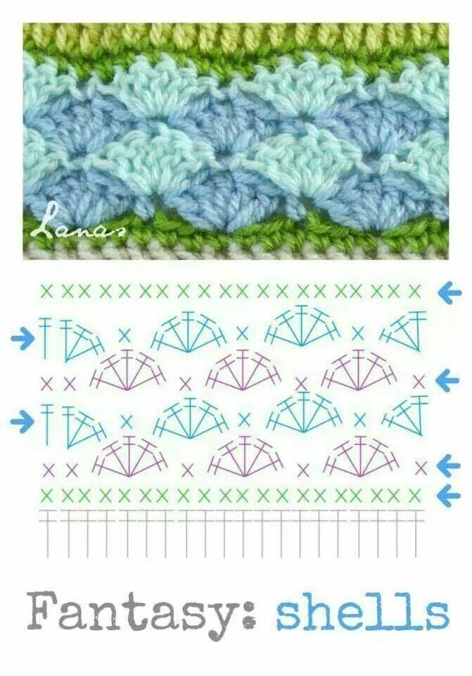 Stitch | Crochet Patterns *1* | Pinterest | Croché, Ganchillo and Lana