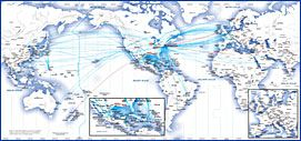 International route map, #UnitedAirlines. | Home work ... on us airways route map, frontier airlines route map, united flight map, spirit airlines route map, jetblue route map, empire airlines route map, singapore airlines route map, alaska airlines route map, british airways route map, philippine airlines route map, american airlines route map, capital airlines route map, delta air lines route map, scandinavian airlines route map, westjet route map, qantas route map, southwest airlines route map, aer lingus route map,