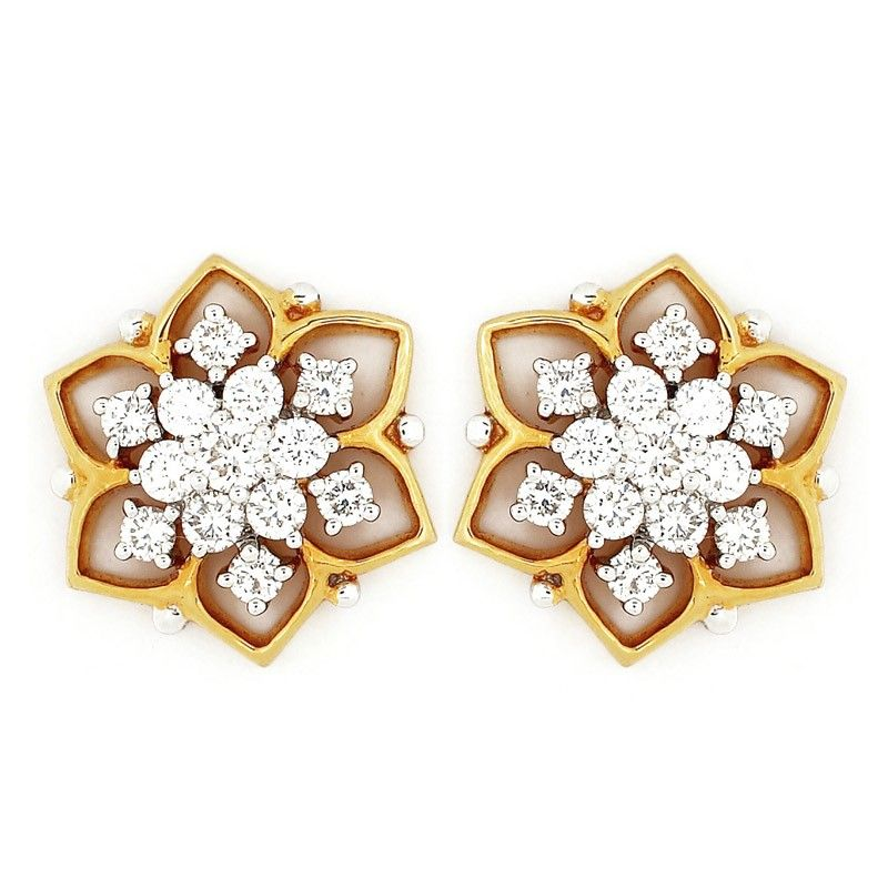 Earrings     GRT Jewellers   jhumkas   Pinterest   Ear ...
