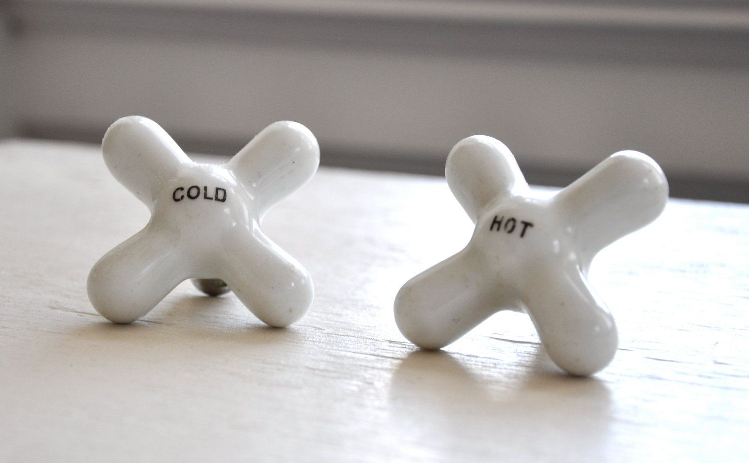 Nice Found A Bunch Of These Porcelain Faucet Knobs. They Will Make Perfect Hooks  In The
