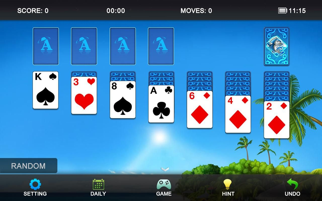 Solitaire apps on google play patience card game