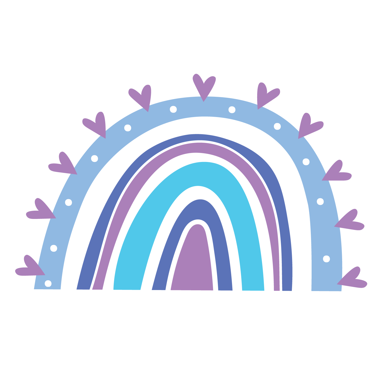 Rainbow Clipart Rainbow Svg Rainbow Svg Vector Rainbow Clip Art Set Commercial Use In 2020 Rainbow Clipart Art Clip Art
