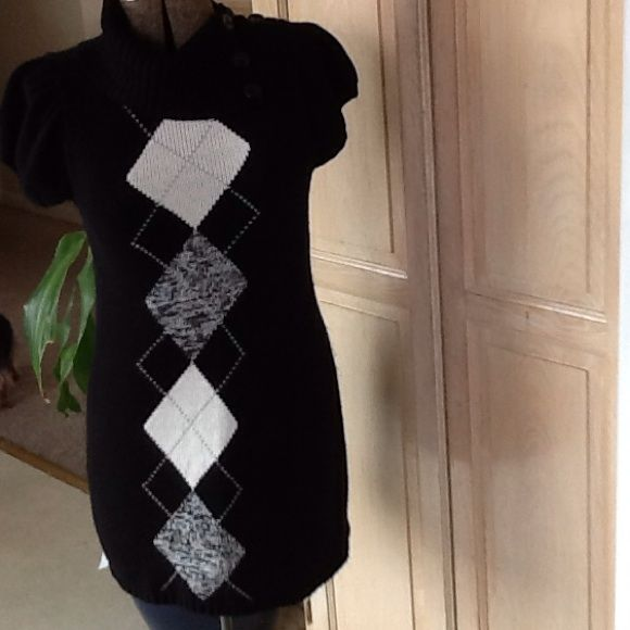 A Nice Black Sweater Dress | Black sweater dress and Products