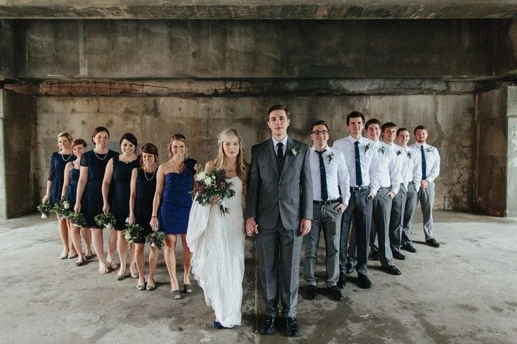 Navy Blue And Grey Wedding Theme Navy blue and grey wedding | the ...