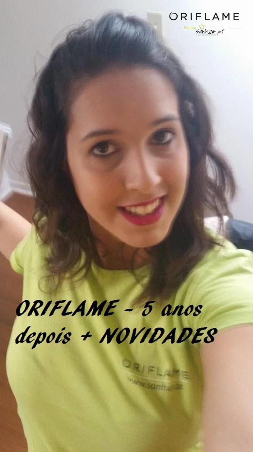 Oriflame - 5 anos depois + NOVIDADES | 25 Novembro 2014