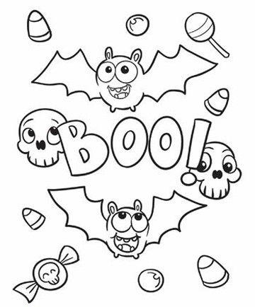 Imagenes De Murcielagos Para Dibujar A Lapiz Dibujos De Halloween Faciles Halloween Para Colorear Dibujos De Halloween